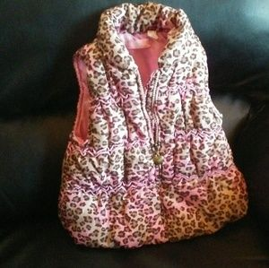 Other - 2t leopard puffer vest